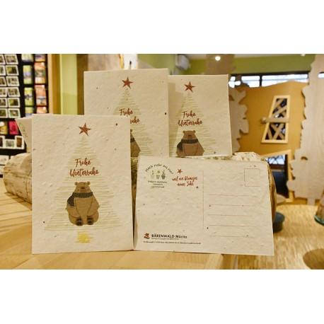 Saat-Postkarte Weihnachten