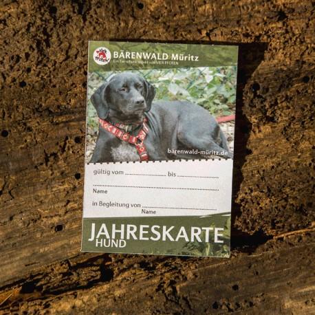 Jahreskarte Hund
