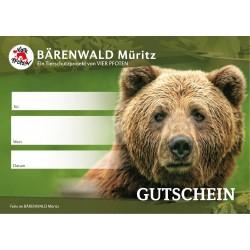 Geschenkgutschein BÄRENWALD Müritz