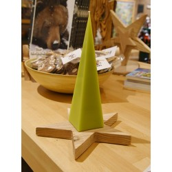 Pyramidenkerze hellgrün