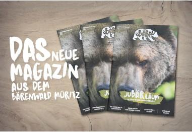 """BÄRENWALD Müritz Magazin """"üBÄRall"""""""